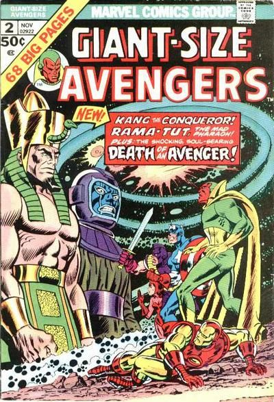 The Avengers Special Edition that inspired Marshall toward parallel universes.