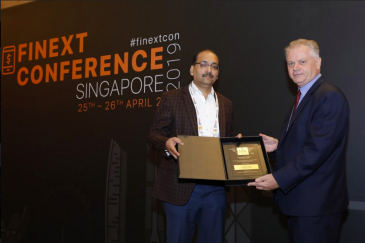Nivesh.com awarded the 'Excellence in Finance - Companies' award at FiNext