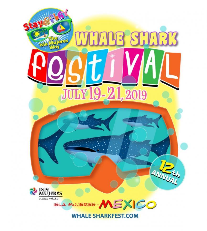 whale shark festival 2019 logo