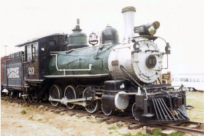 Rio Grande Southern Locomotive No. 20