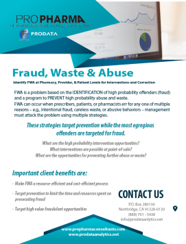 Prevent Fraud, Waste & Abuse