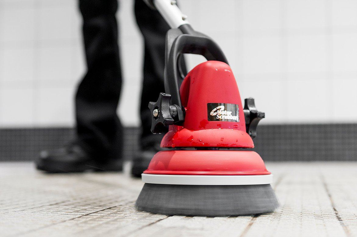 The Motorscrubber MS2000, for when only intense scrubbing will do