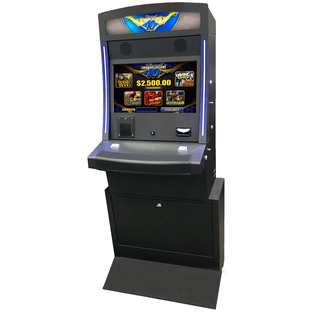 Upright gaming machine