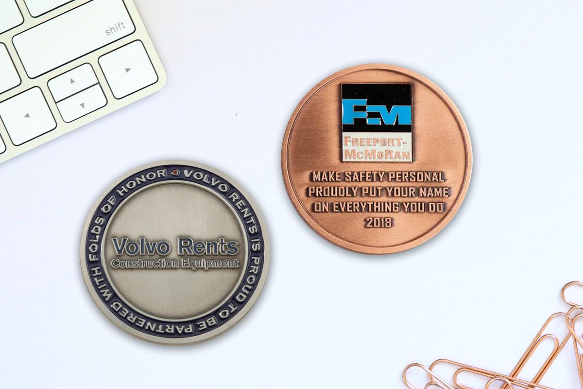 Medalcraft Mint custom business coin