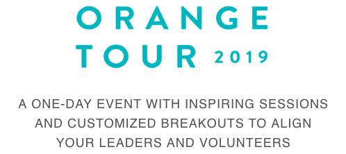 Orange Tour 2019