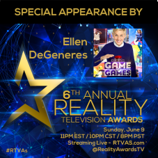 Ellen Degeneres - Appearance