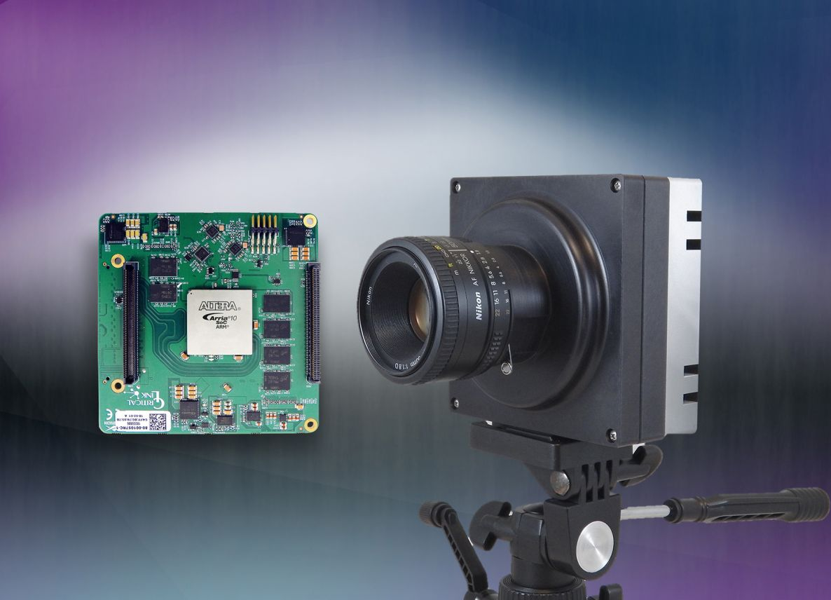 Critical Link's MityCAMC-50000 Imaging system &  MitySOM-A10S System on Module