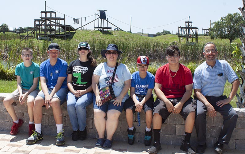 Students and Teachers from Southport Middle School in Port St Lucie FL