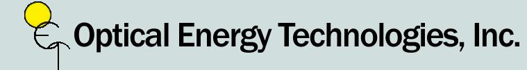 Optical Energy Technologies, Inc.