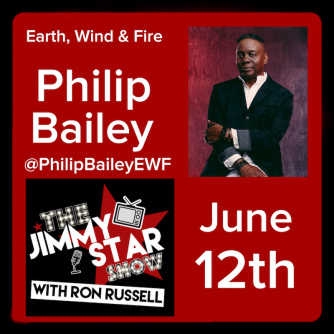 Philip Bailey on The Jimmy Star Show With Ron Russell