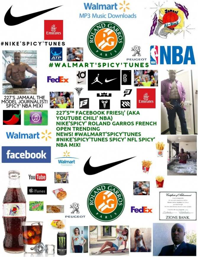 227's™ #Nike'Spicy' Rafael Chili' Nadal Wins 12th French Open! Spicy' NBA Mix!