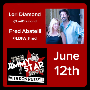 Lori Diamond & Fred Abatelli On The Jimmy Star Show With Ron Russell