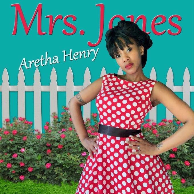 PICTURED: Album cover of Aretha Henry's fourth studio album