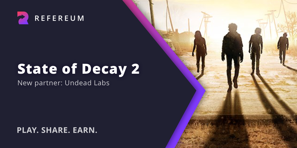 Undead Labs and Refereum partnership