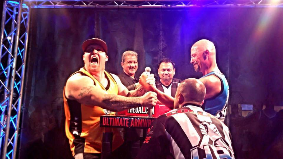 Arm wrestling will be a major sport on TVS Tavern TV Network