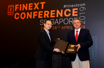 Grigory Sergeenko awarded the 'Excellence in Finance -Leaders award at FiNext