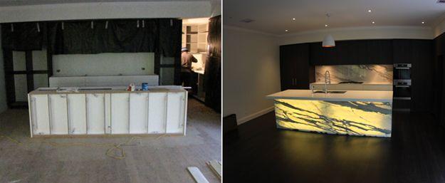 The Magically Illuminated Kitchen