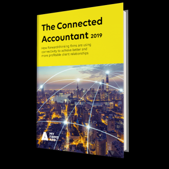 front cover connected accountant 2019