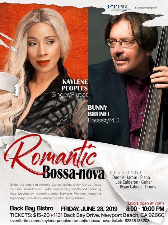 Kaylene Peoples Romantic Bossa Nova Back Bay Bistro 6/28/2019