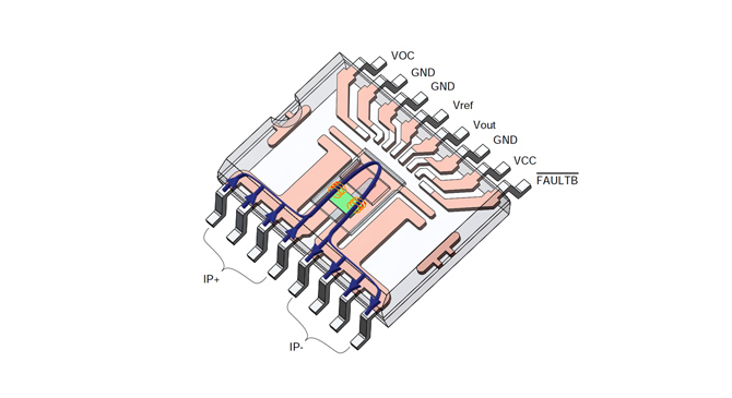 Highly accurate, wide bandwidth AMR-based current sensors are now available