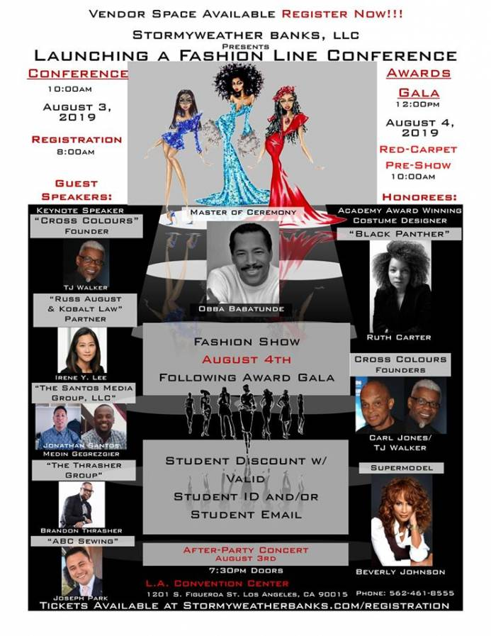 Launching A Fashion Line Conference & Breaking Barriers Awards Gala