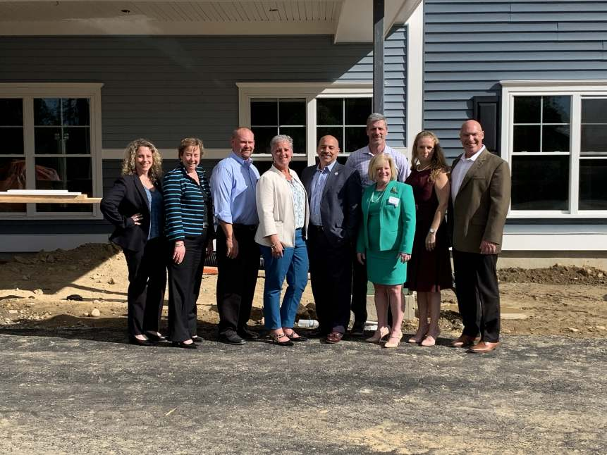 Benchmark & The Branches of Marlboro Team Celebrate the Communities Pre-Opening