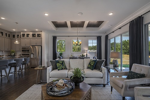 David Weekley Homes' New Model Home at Marietta Township Features Open Concept