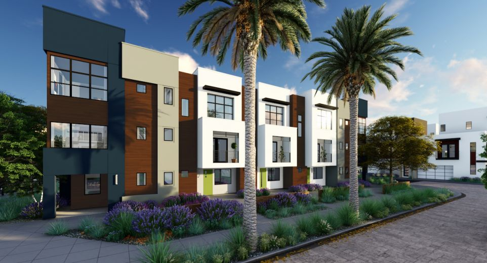 New homes in Tustin by Lennar including detached homes, townhomes and flats