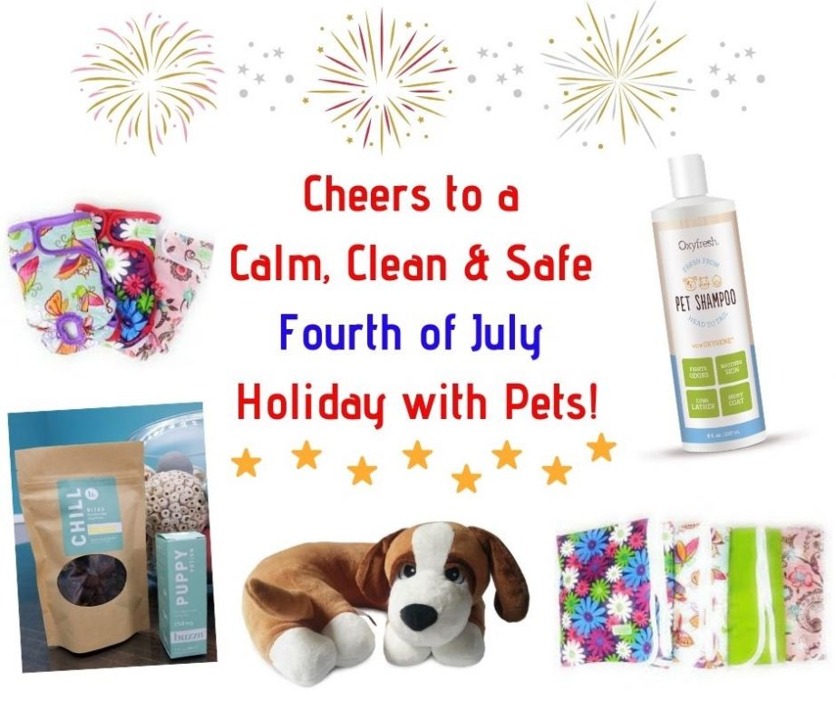 Cheers to a Calm, Clean & Safe 4th of July with Pets