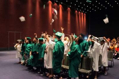 Urban Pathways 6-12 Charter School graduation 2019.