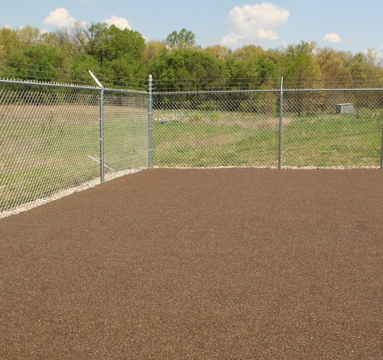 One of Eight Outdoor Play Areas at the Humane Society of Elkhart, Indiana