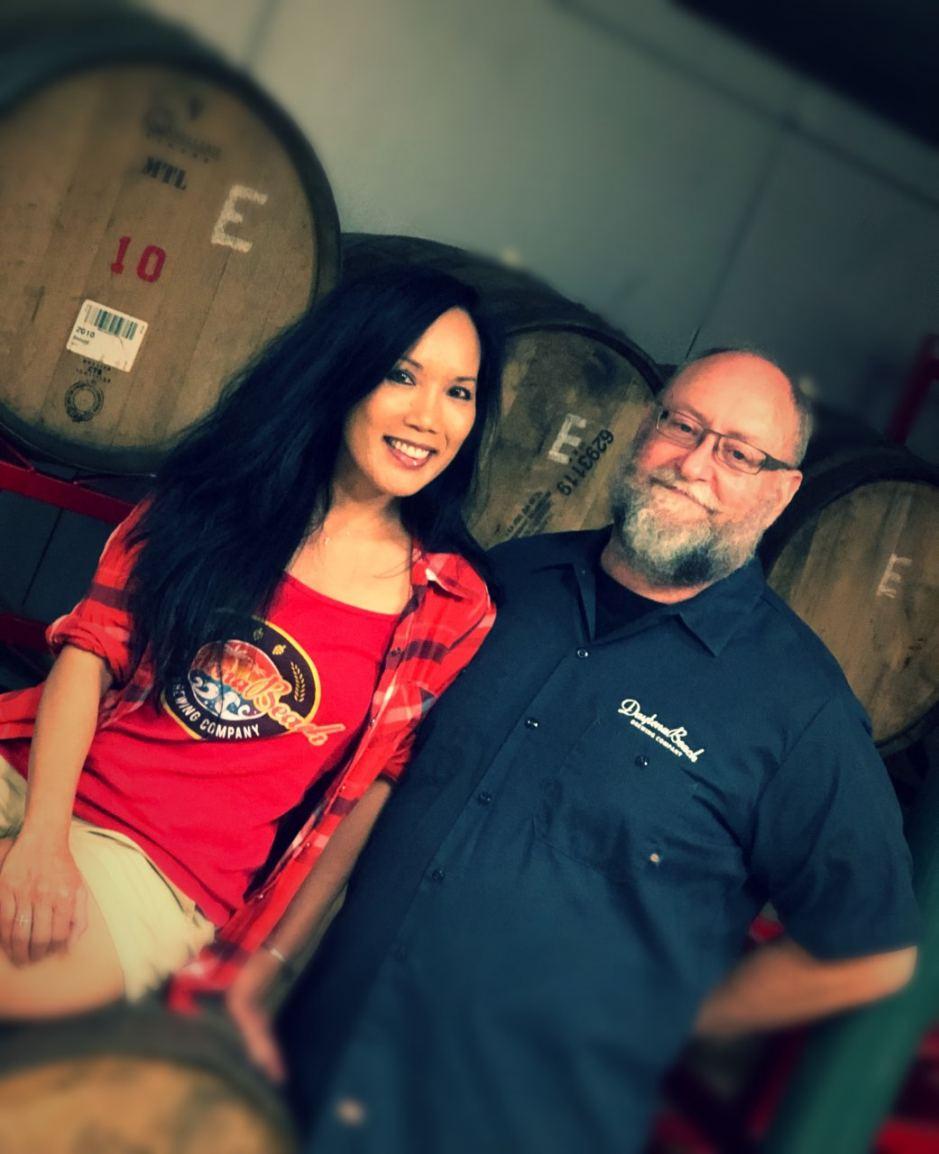 Merlita & Alan Fawcett of Daytona Beach Brewing Company.
