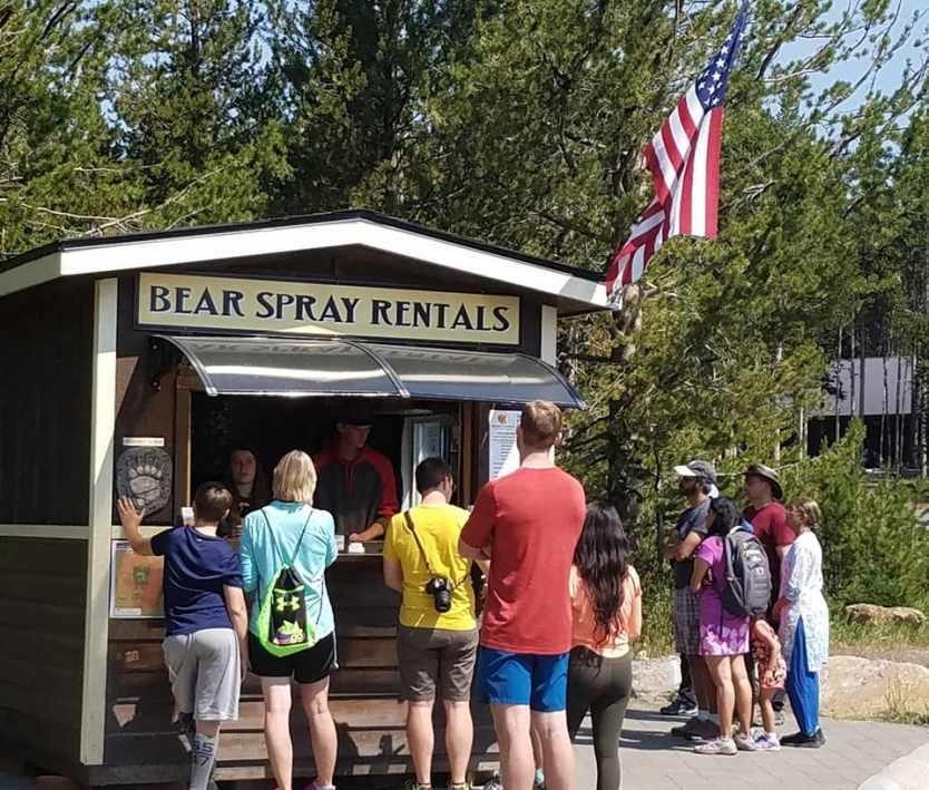 Located at Canyon Village, Yellowstone Nat'l Park
