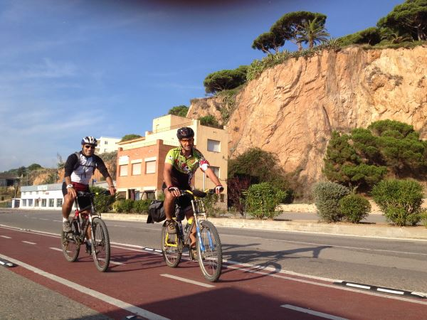 Self-guided cycling in Spain