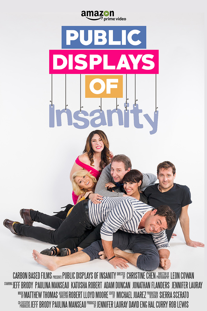 Public Displays of Insanity now on Amazon and Amazon Prime.