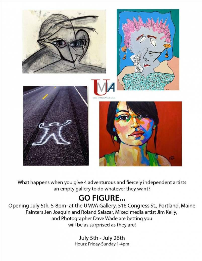 ARTISTS: Roland Salazar Rose; Jen Joaquin; Jim Kelly; Dave Wade