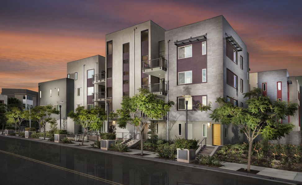 New homes in Irvine including paired, flats and townhomes in a prime location