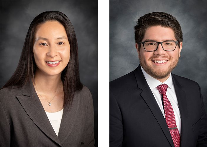 Attorney Mary Nguyen (left) & Attorney Alexis Maguina (right) of Royse Law Firm