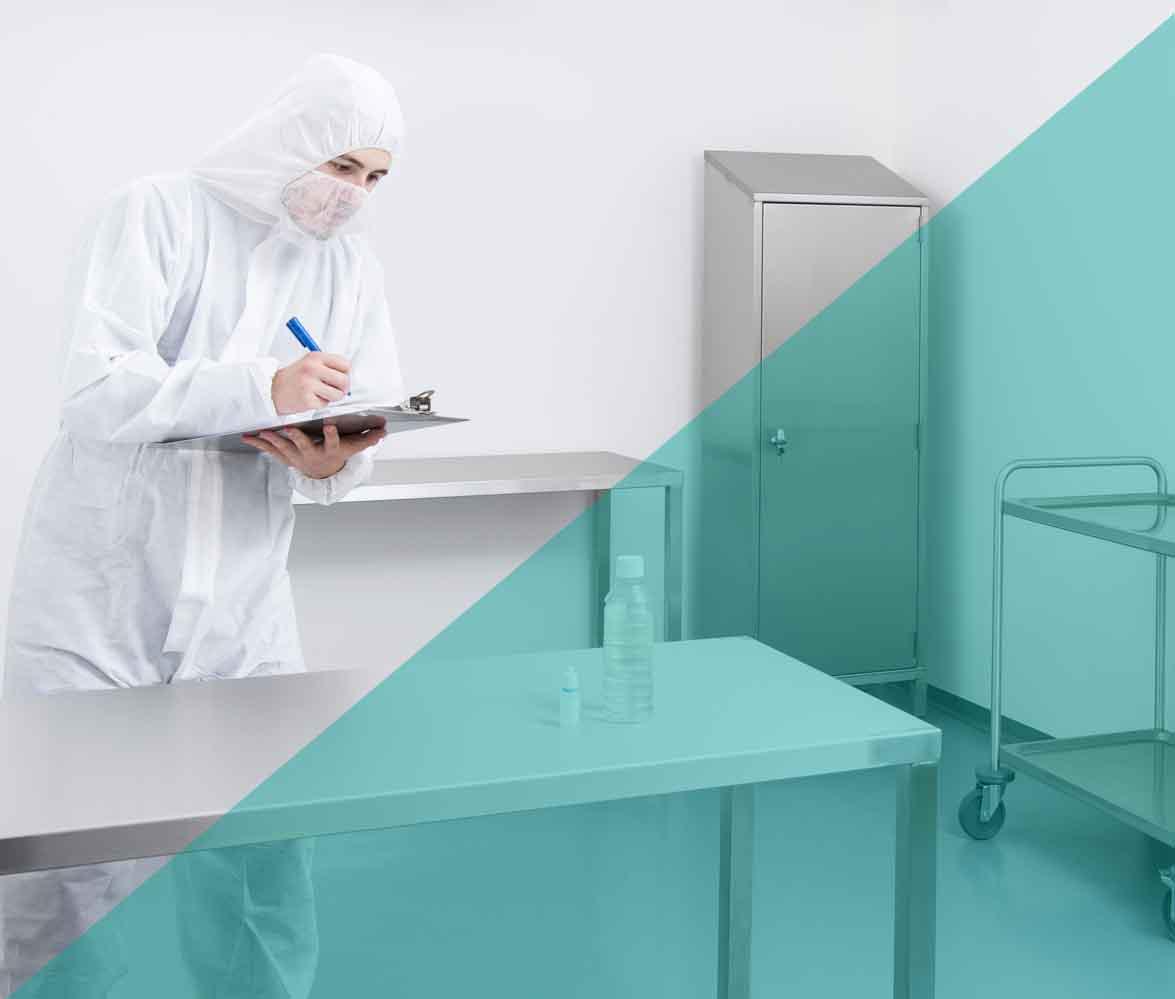 Sterilisation routine