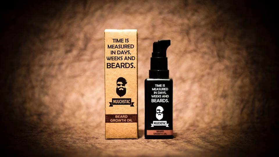 Muuchstac unveils All-Natural Beard Oil, Herbal Shampoo