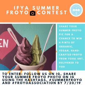 IFYA Summer Froyo Photo Contest