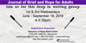 Vancouver Grief Journal Group