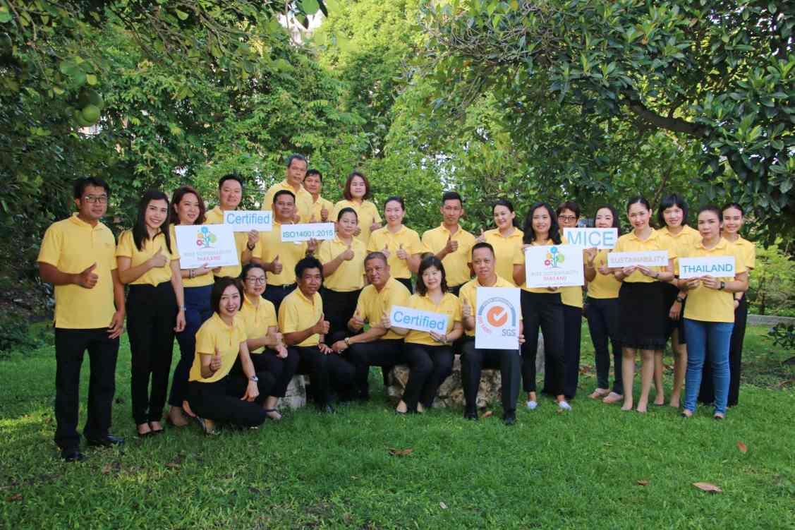 Dusit Thani Pattaya receives ISO 14001 2015 certif