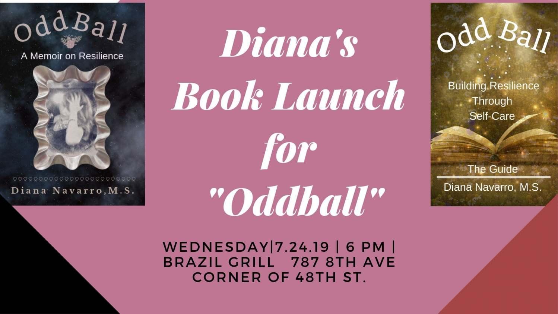 Diana's Oddball Book Launch (2)