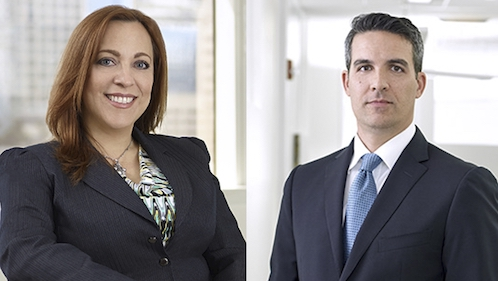 Jacqueline Calderín and Christopher B. Spuches.