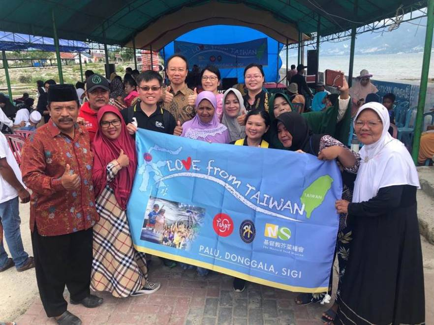 Post Disaster Reconstruction assistance from Taiwan to Indonesia