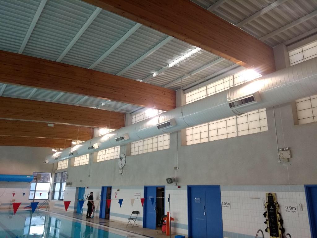 Wavelengths Leisure Centre new LED Lighting