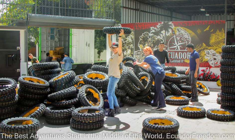 MotoZ Tires have arrived in Ecuador