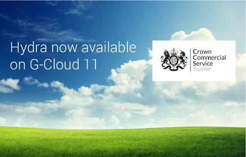 Hydra now available on G-Cloud 11