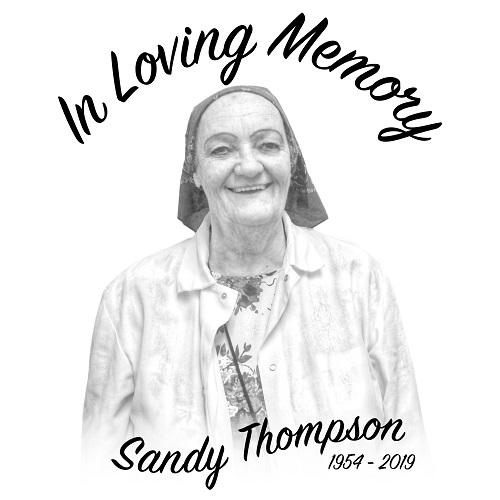 Sandy Thompson in Loving Memory - Copy